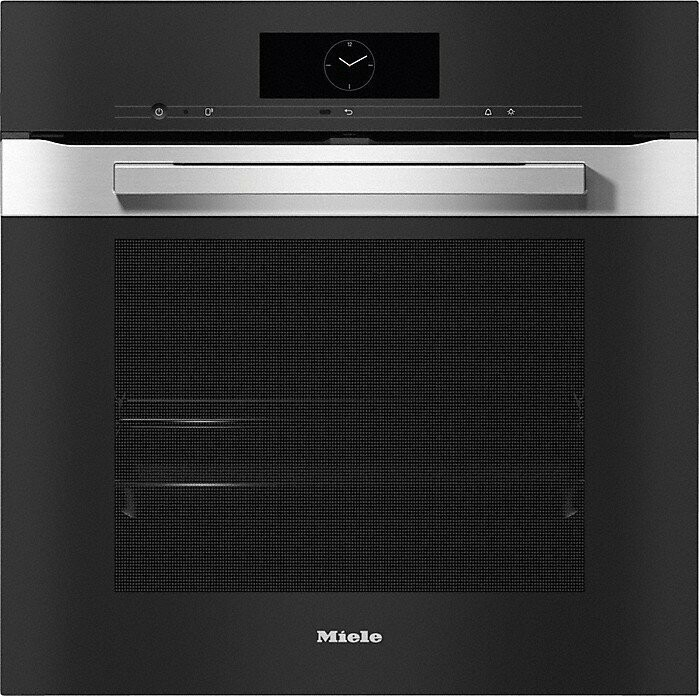 Rawsons Appliances Bathrooms - Miele H 7660 BP Oven PureLine CleanSteel