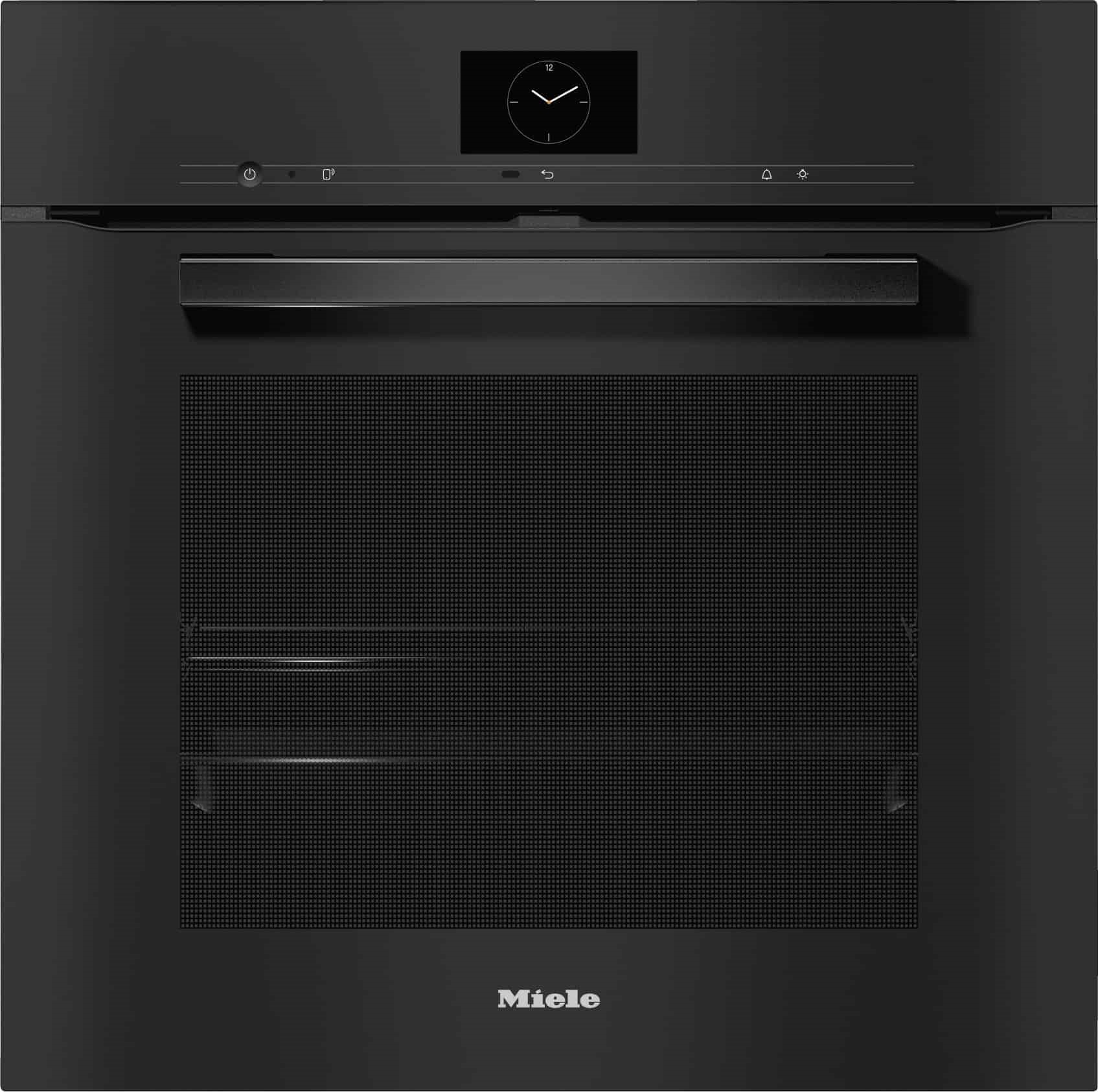 Rawsons Appliances Bathrooms - Miele H 7660 BP Oven VitroLine Obsidian Black